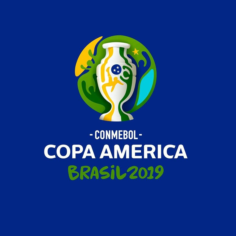 Logotipo da Copa America Brasil 2019