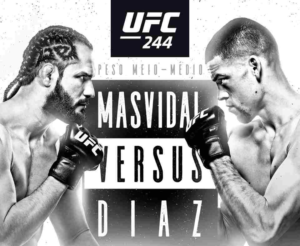 Masvidal encara Nate Diaz no UFC 244