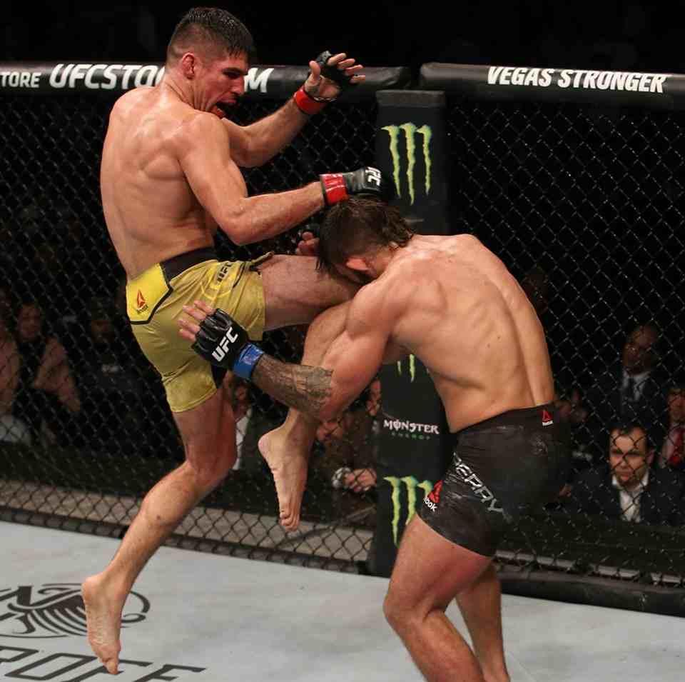 Vicente Luque tem duelo duro no UFC 244
