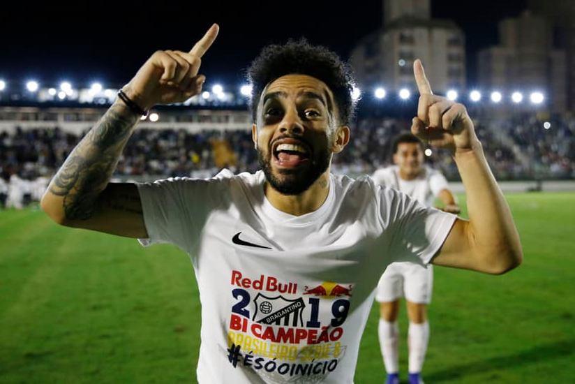 Claudinho foi um dos destaques do Bragantino