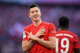 Lewandowski é o artilheiro do Bayern com 20 gols na temporada