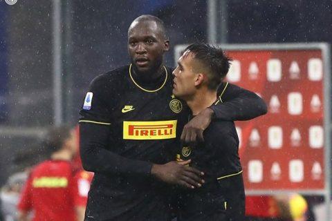 Lautaro e Lukaku são as estrelas da Internazionale