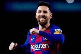 Messi é a grande arma do Barcelona