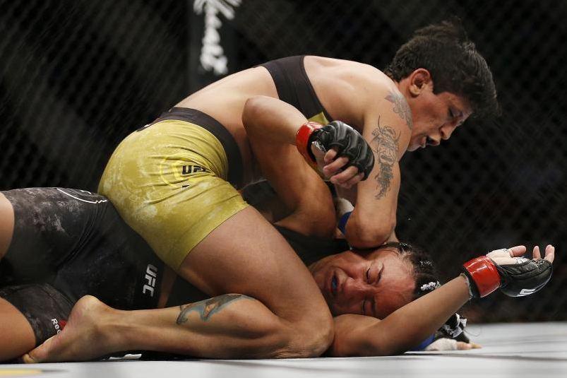 Virna busca sua primeira vitória no UFC