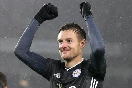 Vardy é o artilheiro do Leicester