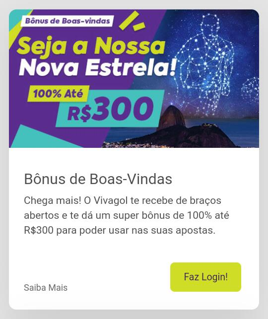 Confira o Bônus do Vivagol!