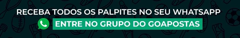 Entre no grupo de whatsapp do GO APOSTAS!