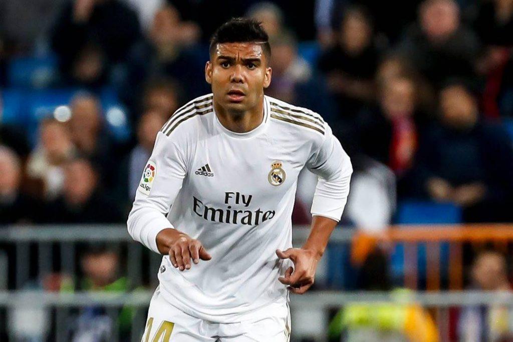 Casemiro é um dos destaques do Real Madrid