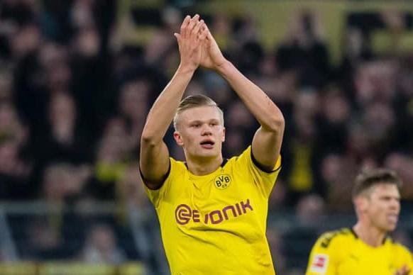 Haaland está voando no Dortmund!