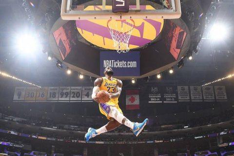 LeBron James é uma das estrelas do evento!