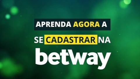 Se cadastre agora na Betway!
