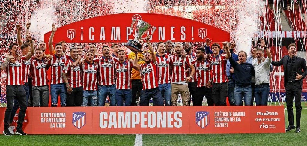Atlético de Madrid é o atual campeão