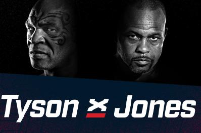 Mike Tyson x Roy Jones Jr se enfrentam em um último ato