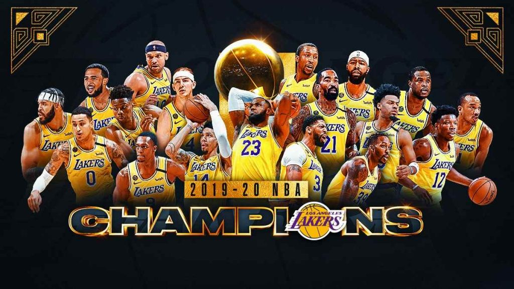 LA Lakers foi o campeão de 2020!
