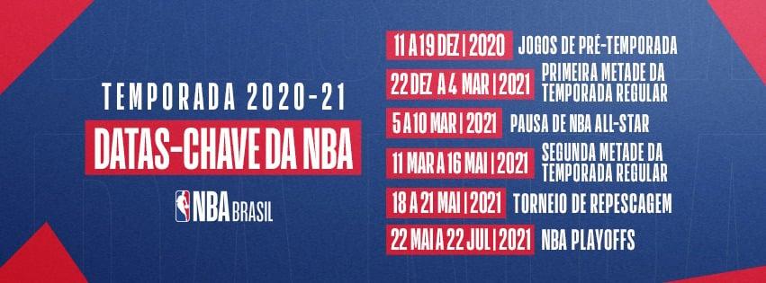 A temporada 2021 da NBA!