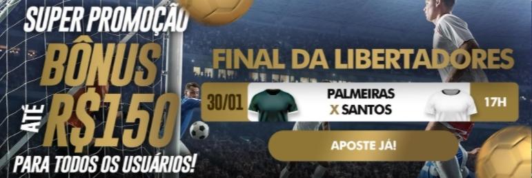 Aposte agora na final da Libertadores!