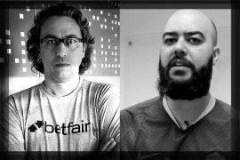 Nettuno e Danilo Pereira: apostadores!