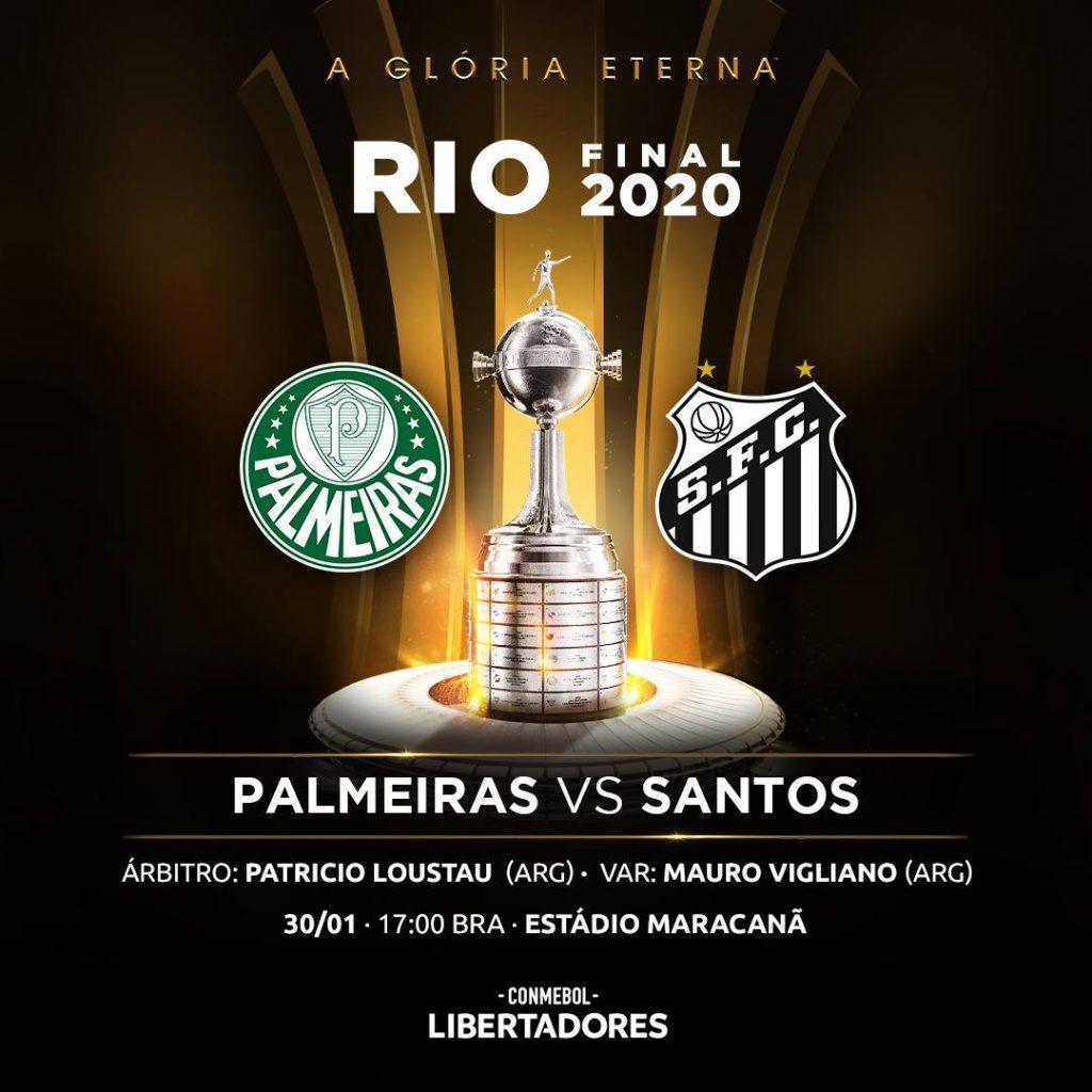 Palmeiras x Santos: Final Libertadores