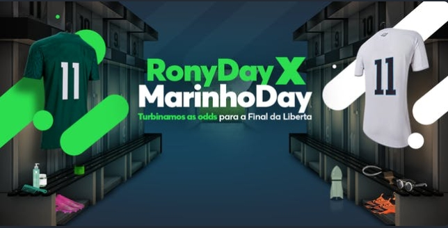 Rony x Marinho, quem marca na final?