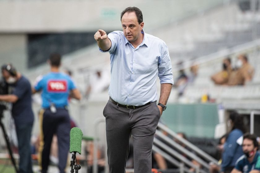 Rogério Ceni busca maior titulo até então como treinador