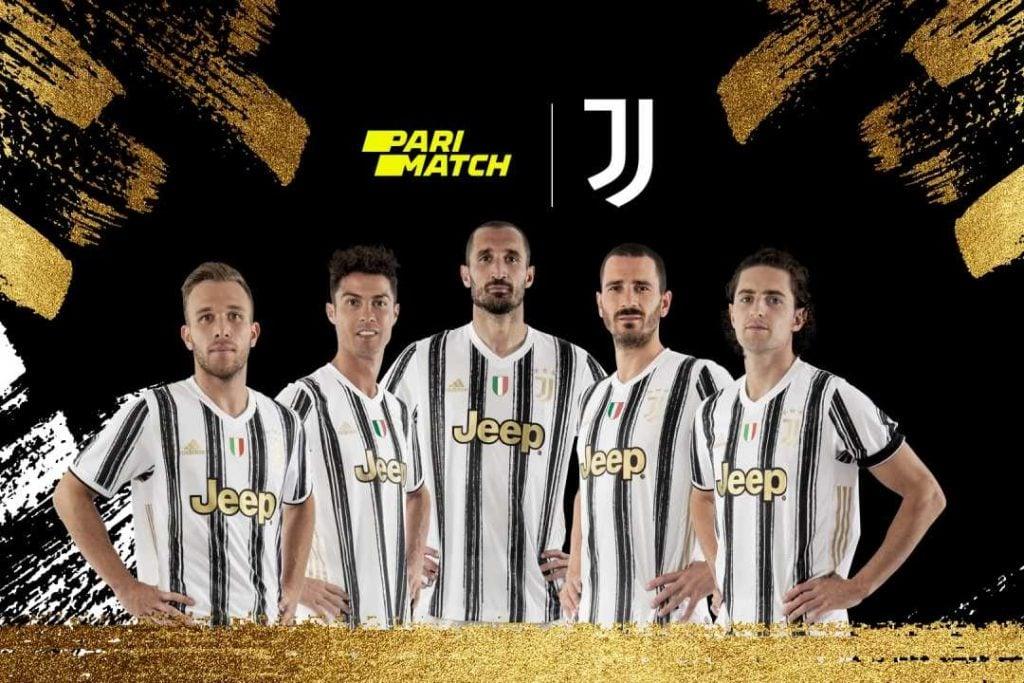 Juventus e a Parimatch