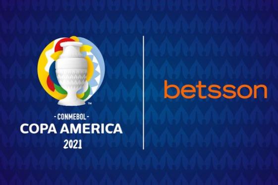 Betsson é uma patrocinadora da Copa América