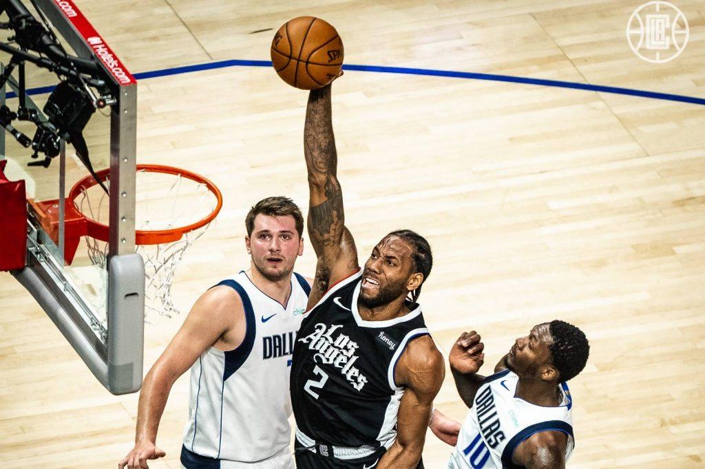 Utah Jazz e Los Angeles Clippers na semifinal