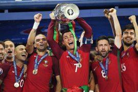 Portugal levou a última Euro