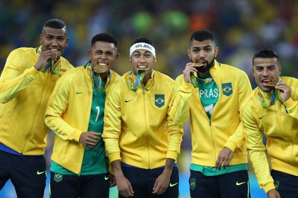 Futebol levou o primeiro ouro