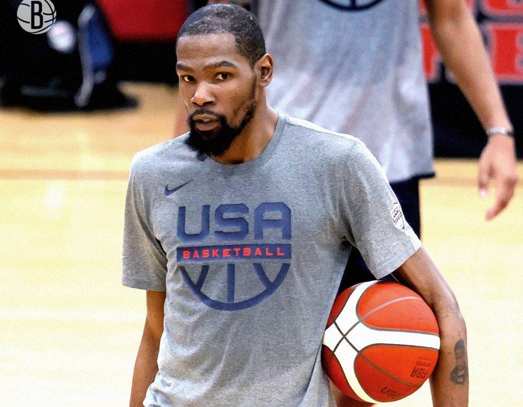 Kevin Durant estará nas Olímpiadas