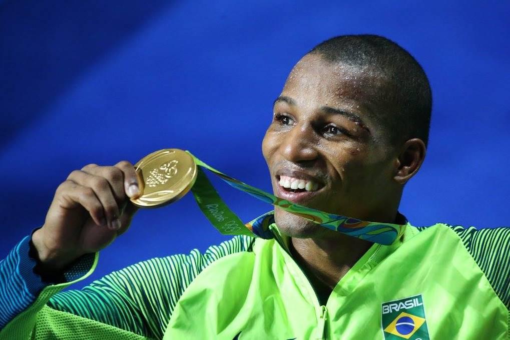 Robson ficou com o ouro em 2016