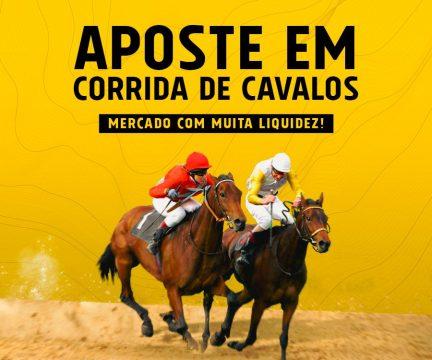 Aposte em Corrida de Cavalos.