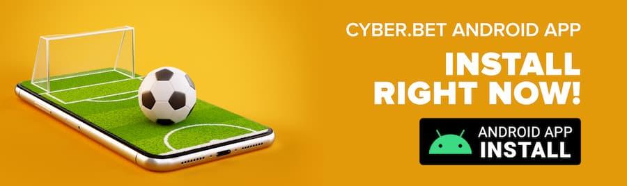 Cyber Bet oferece app.